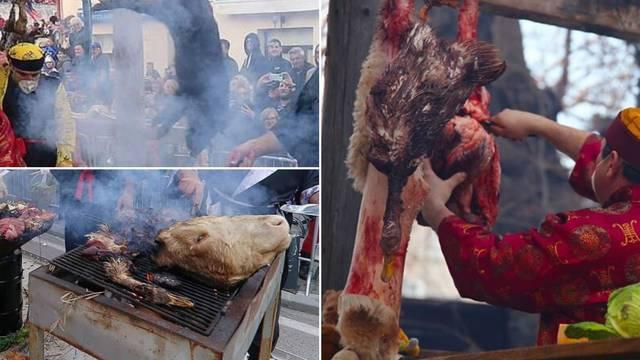 Krvavi karneval na Murteru:  Derali su životinje na rivi...