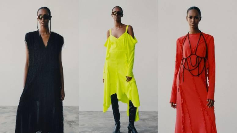 H&M Studio predlaže haljine u bojama i hlače sa šljokicama