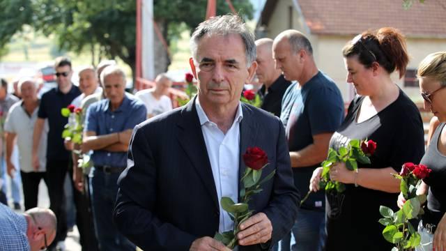 U Uzdolju održana komemoracija za srpske žrtve u VRO Oluja