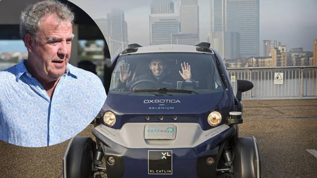 Clarkson im ne vjeruje: Skoro me ubio automobil bez vozača