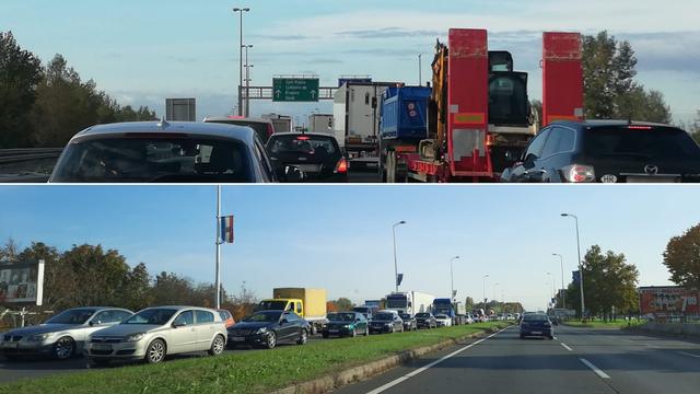 Preko 150 kamiona paraliziralo promet u Zagrebu: Dosta nam je što satima čekamo na granici