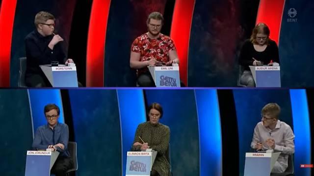 Skandal na islandskoj televiziji: Izgubio u kvizu pa razbijao po studiju, letjele su čaše i pult...