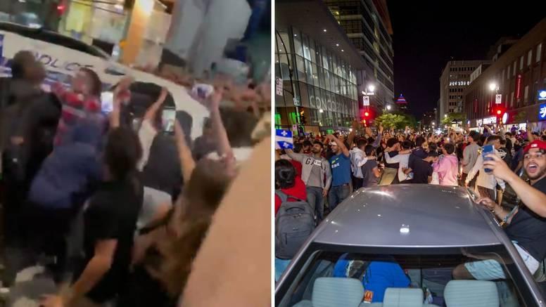 Slavili finale NHL-a pa rasturili grad: Nastradao i policijski auto