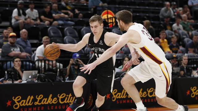 NBA: Utah Summer League-San Antonio Spurs at Cleveland Cavaliers