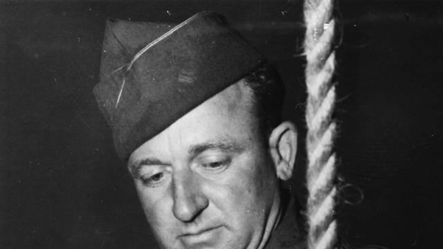 Hinrichtung v. Kriegsverbrechern / 1945