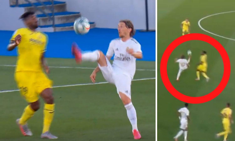 Velemajstor! Luka Modrić opet igra za Balon d'Or, pogledajte 'sombrero' protiv Villarreala...