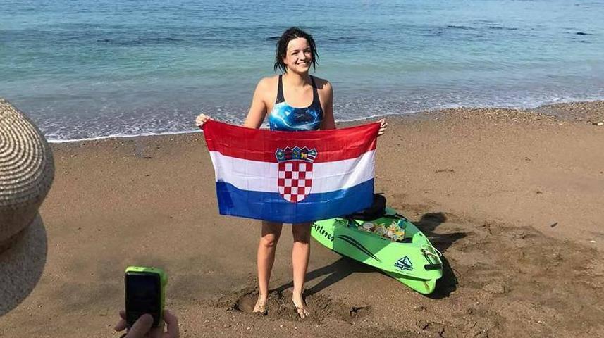 Dina Levačić je prva Hrvatica koja je preplivala La Manche