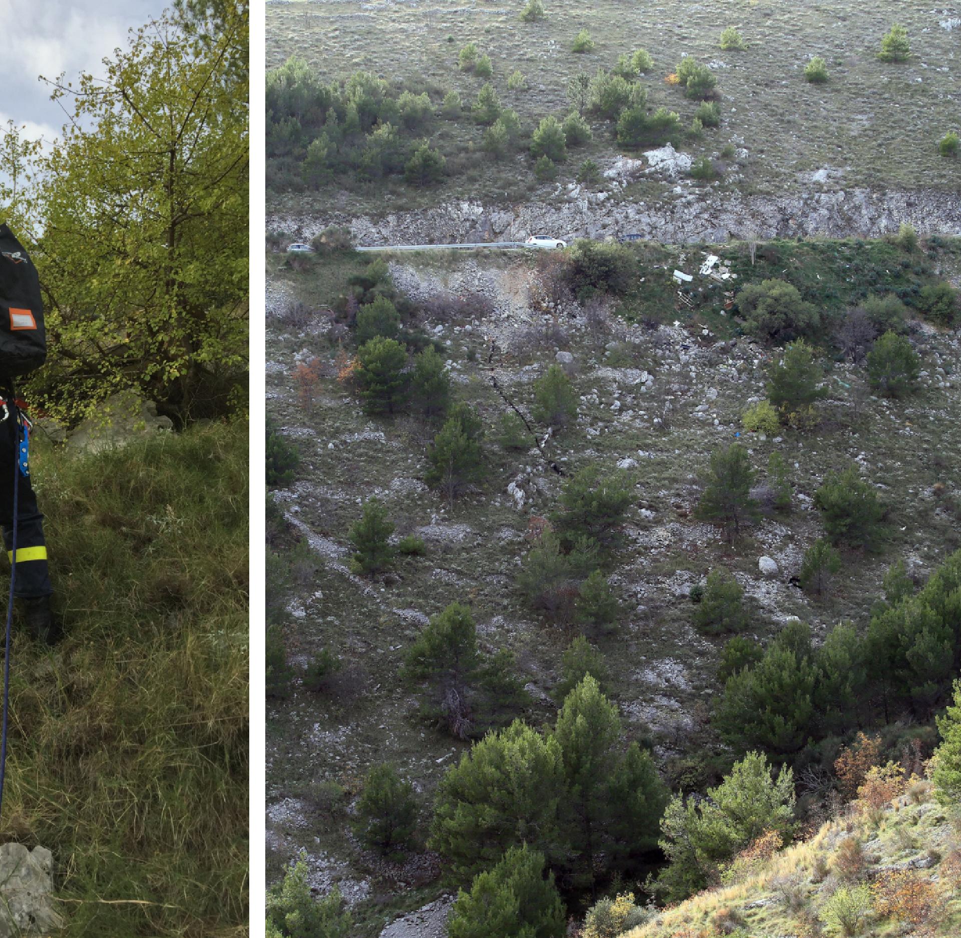 Bez ozljeda: Preživio je pad u provaliju duboku 100 metara