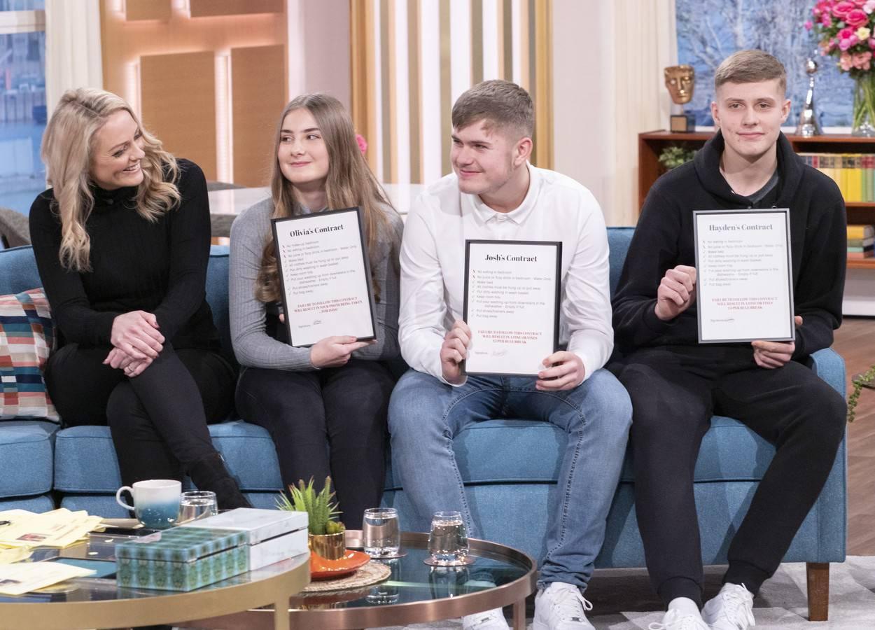'This Morning' TV show, London, UK - 20 Feb 2020