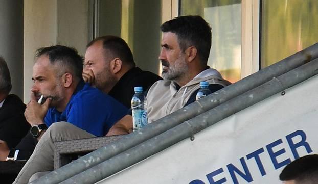 Zoran Mamić u Zenici gleda utakmicu U21 reprezentacije BiH