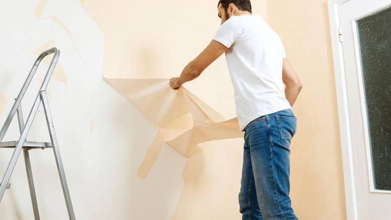 Odlični trikovi kako puno lakše ukloniti stare tapete sa zidova