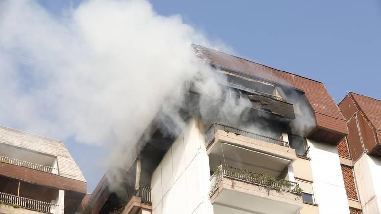 Drama u Beogradu: Spašavali djevojku iz požara na 10. katu