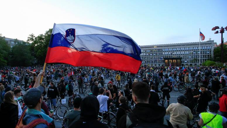Ljubljana: Priveli 7 prosvjednika
