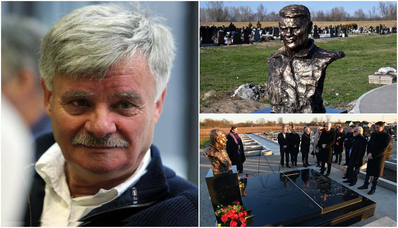 Otkrili bistu Ivi Gregureviću: 'Godinu dana je prošlo za tren'