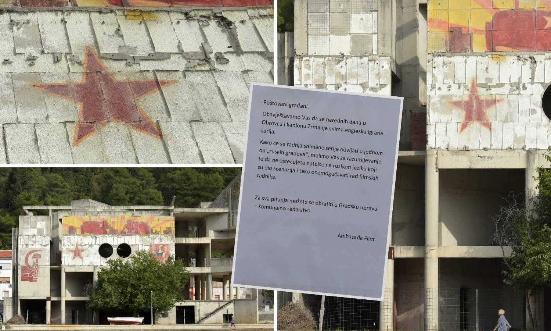Petokraka u Obrovcu: Glumimo ruski grad, ne uništavajte to