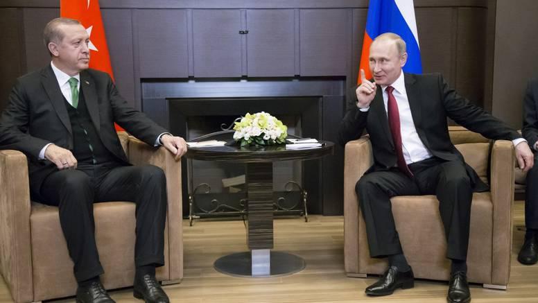 Putin i Erdogan danas se sastaju i razgovaraju u Sočiju