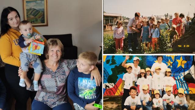 Teta Mirjana u vrtiću je radila 42 godine: 'Ako im date ljubav i sigurnost, djeca rado slušaju'