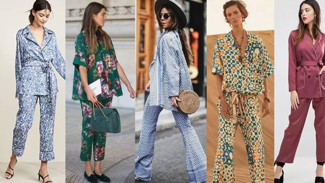 Idealno za ležerne gošće: Meko odijelo inspirirano pidžamama