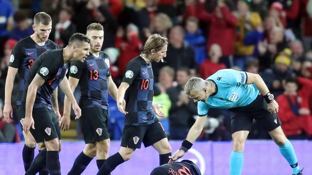 Susret Walesa i Hrvatske u kvalifikacijama za Europsko prvenstvo