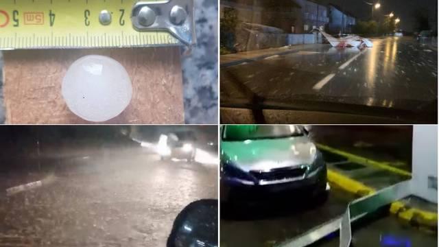 Epilog oluje u Hrvatskoj: Letjeli krovovi, uništena benzinska...