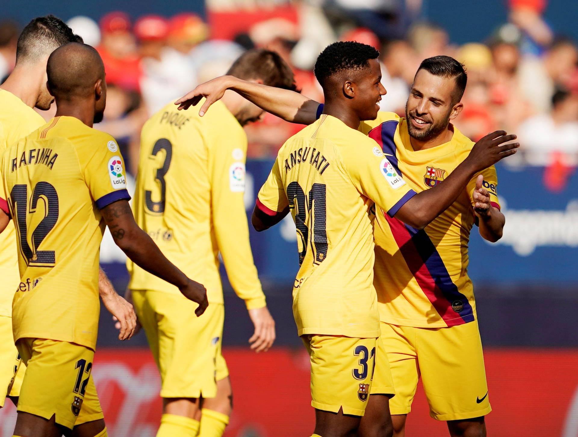 La Liga Santander - Osasuna v FC Barcelona