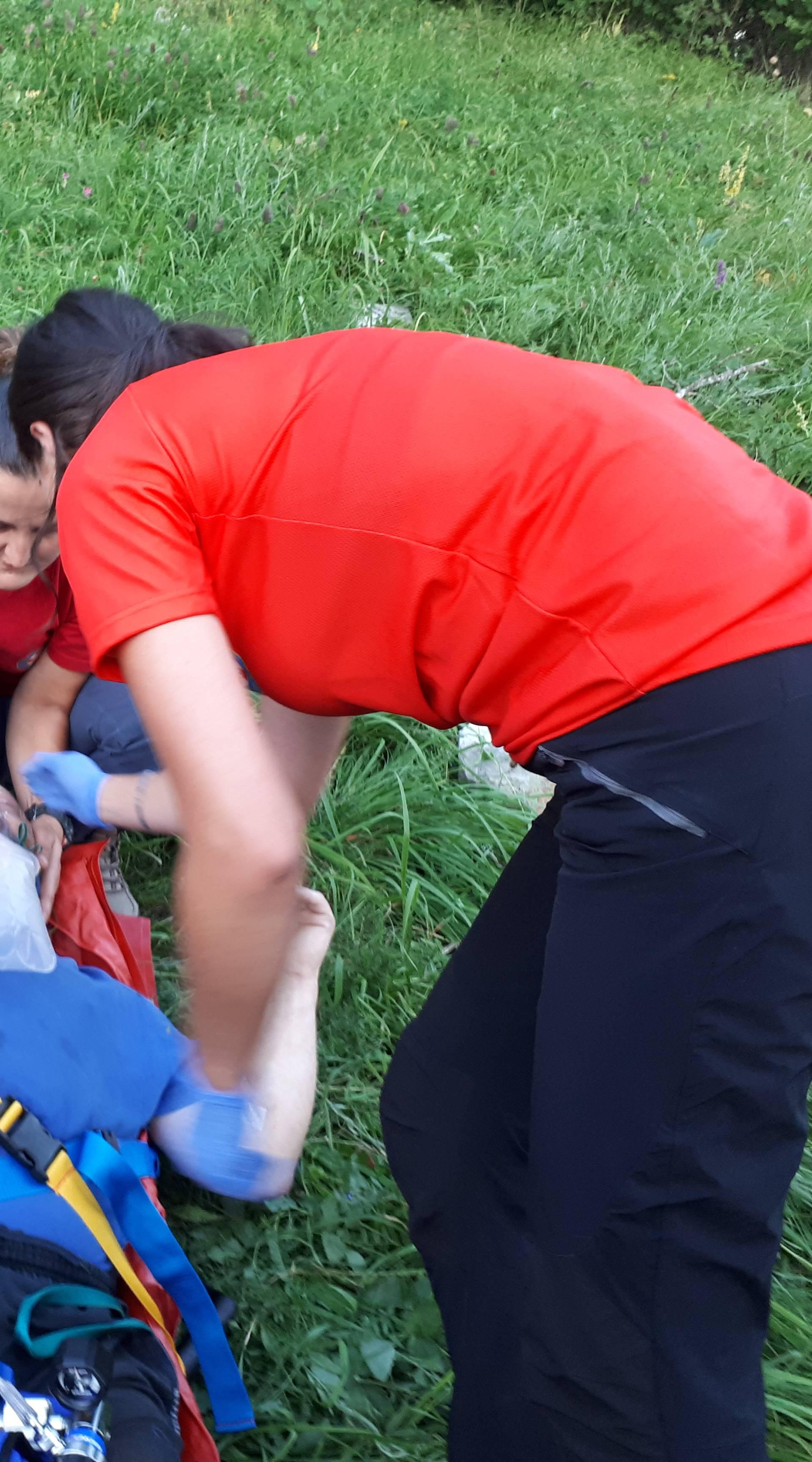 Paraglajder se srušio i ozlijedio leđa: 'Imao je problem u zraku'