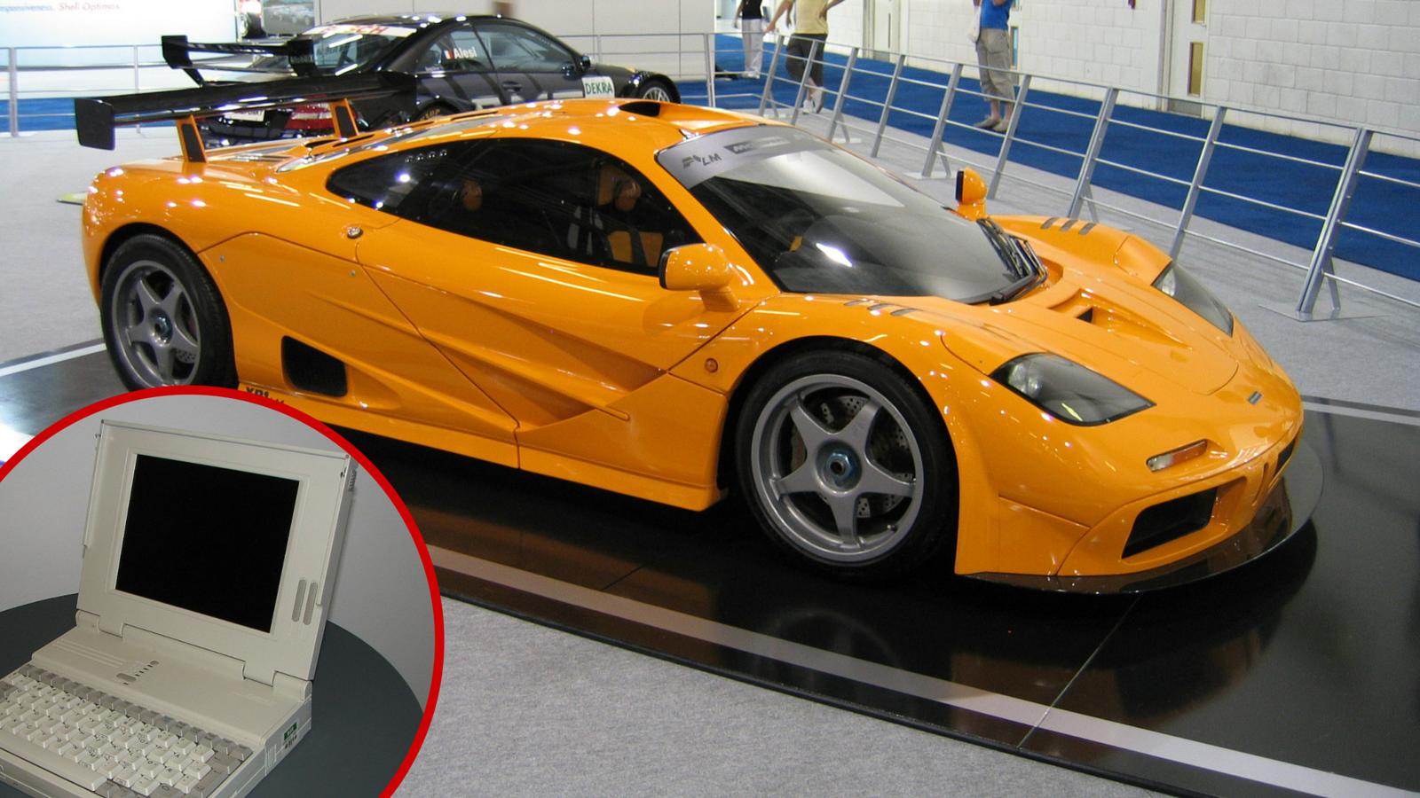 Da bi popravili legendarni  F1, McLaren treba prastari laptop