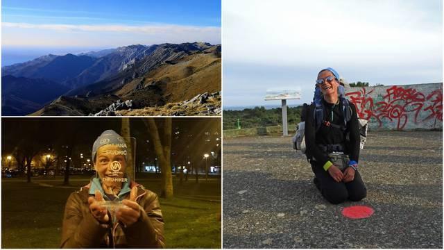 Ja sam prva žena koja je Via Adriaticu prehodala preko zime