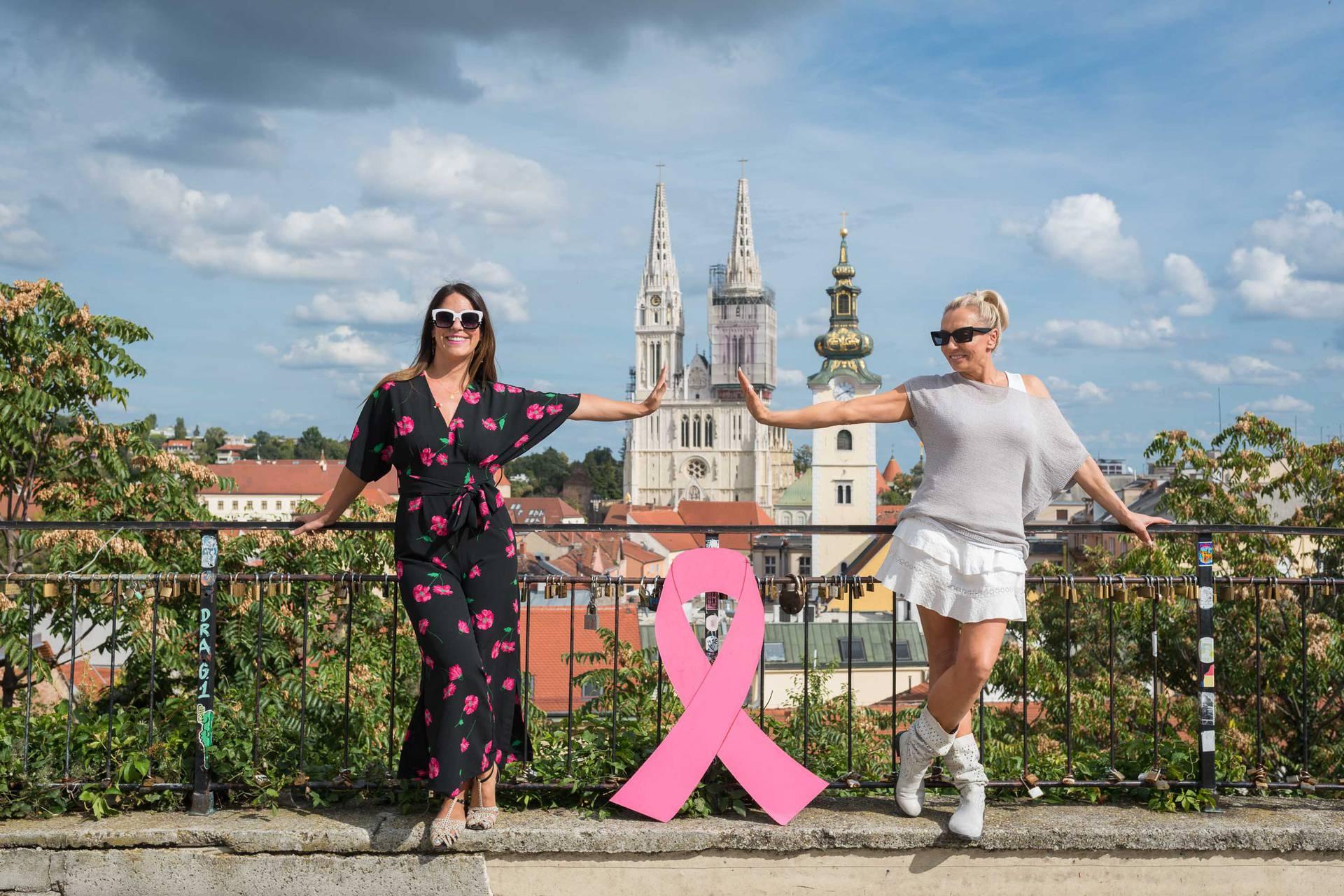 Ružičasta vrpca solidarnosti za pomoć oboljelima od raka dojke