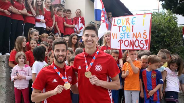 Splićani su dočekali europske prvake: Ovo je velik rezultat