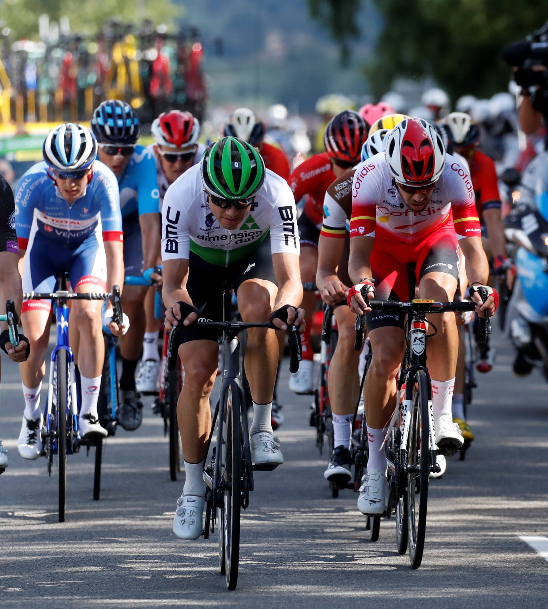 Tour de France - The 170.5-km Stage 9 from Saint-Etienne to Brioude
