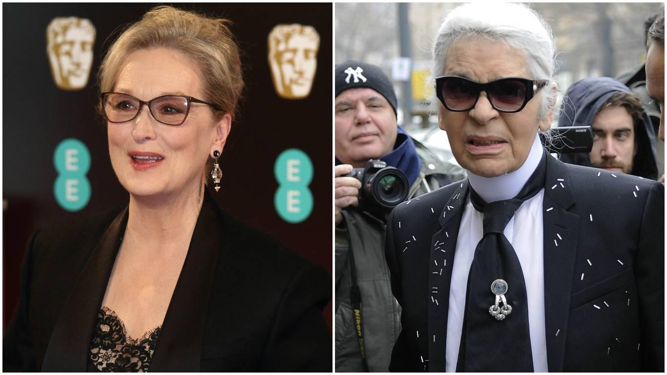 Meryl u svađi s Lagerfeldom: Ti si mi upropastio dodjelu Oscara