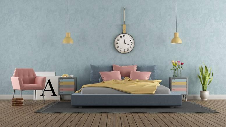 Preuredite spavaću sobu: Ona će 'prodisati' uz pastelne boje