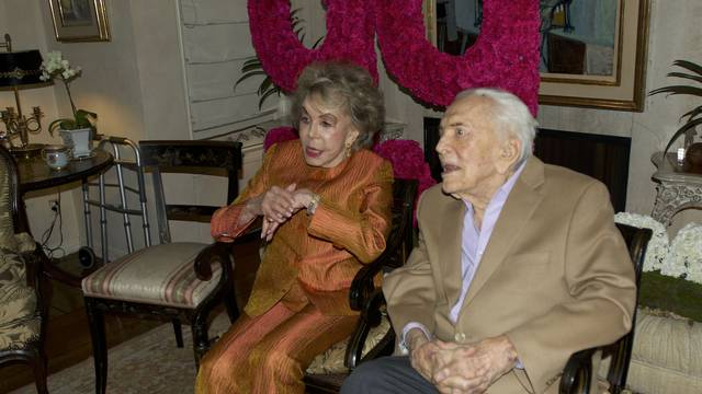 Kirk Douglas 99th Birthday Party