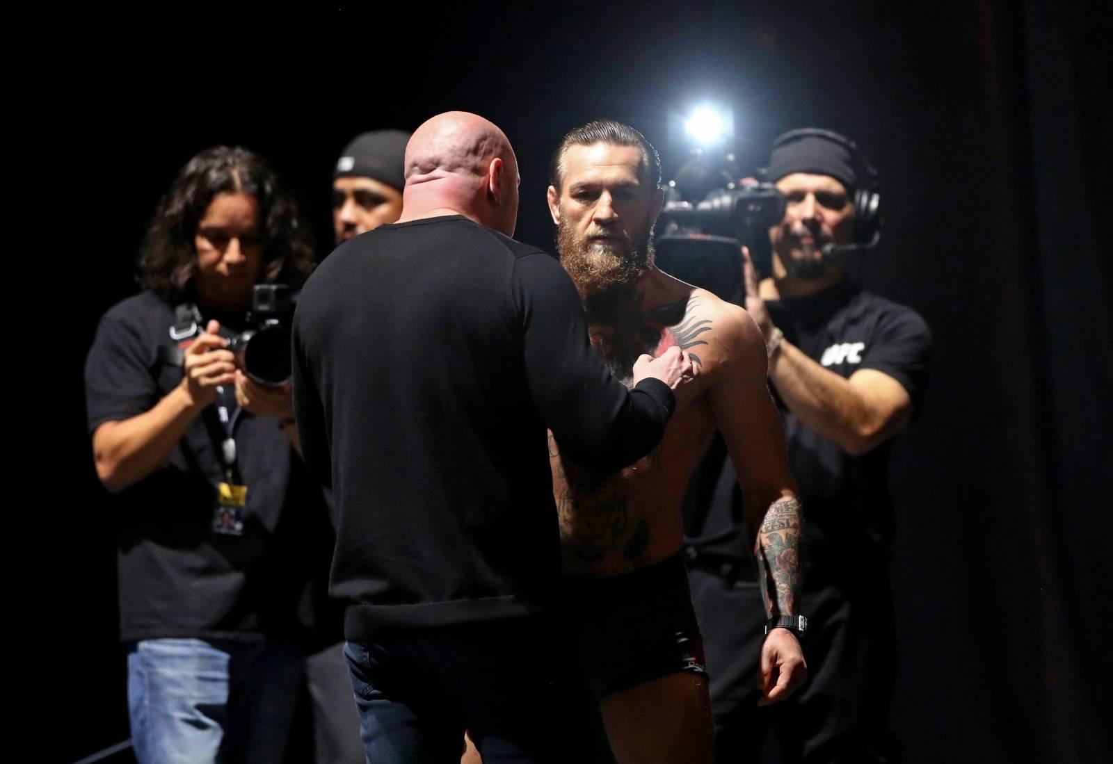 MMA: UFC 246-Weigh Ins