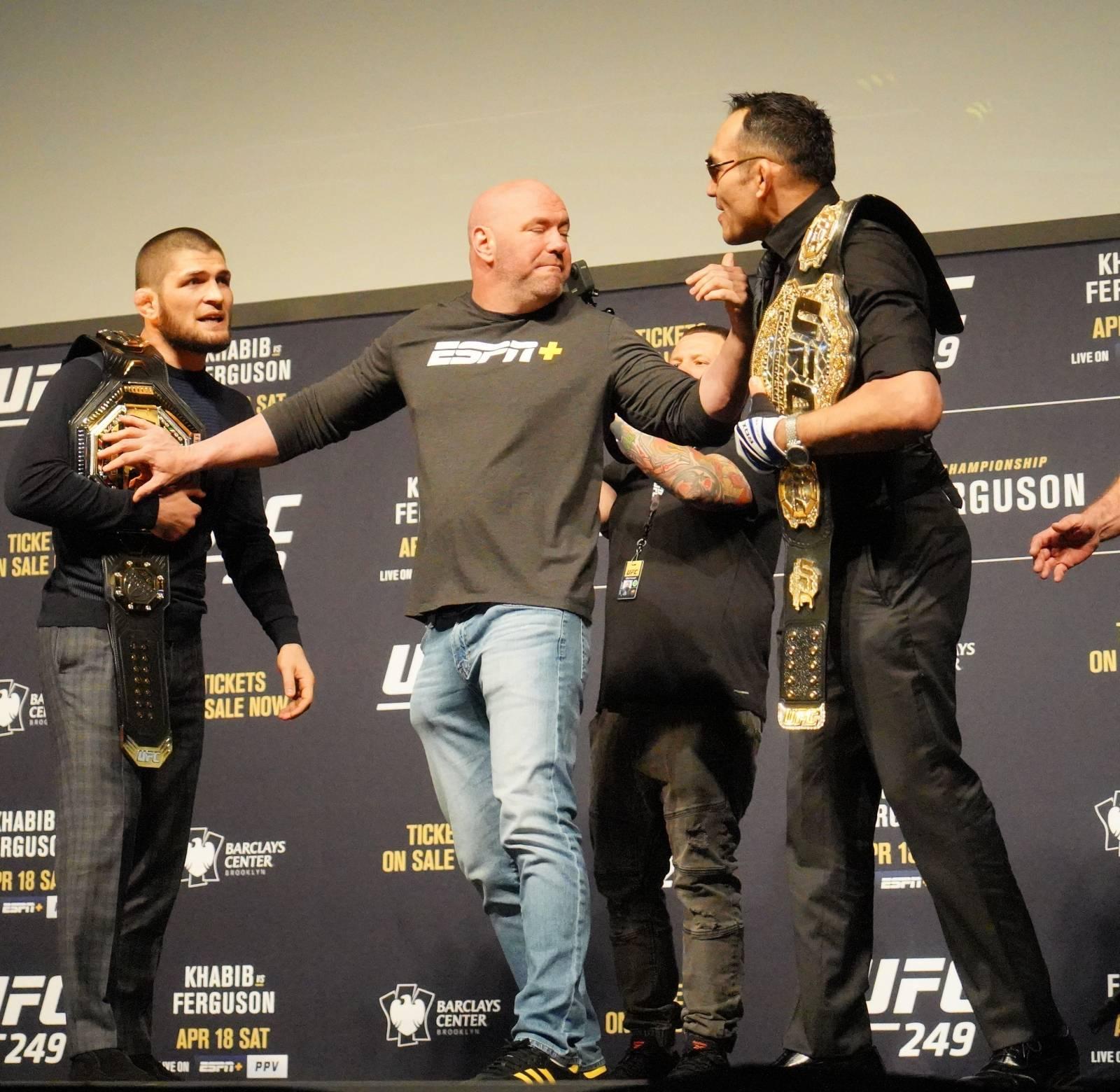 UFC 249 - Khabib Nurmagomedov press conference - NY