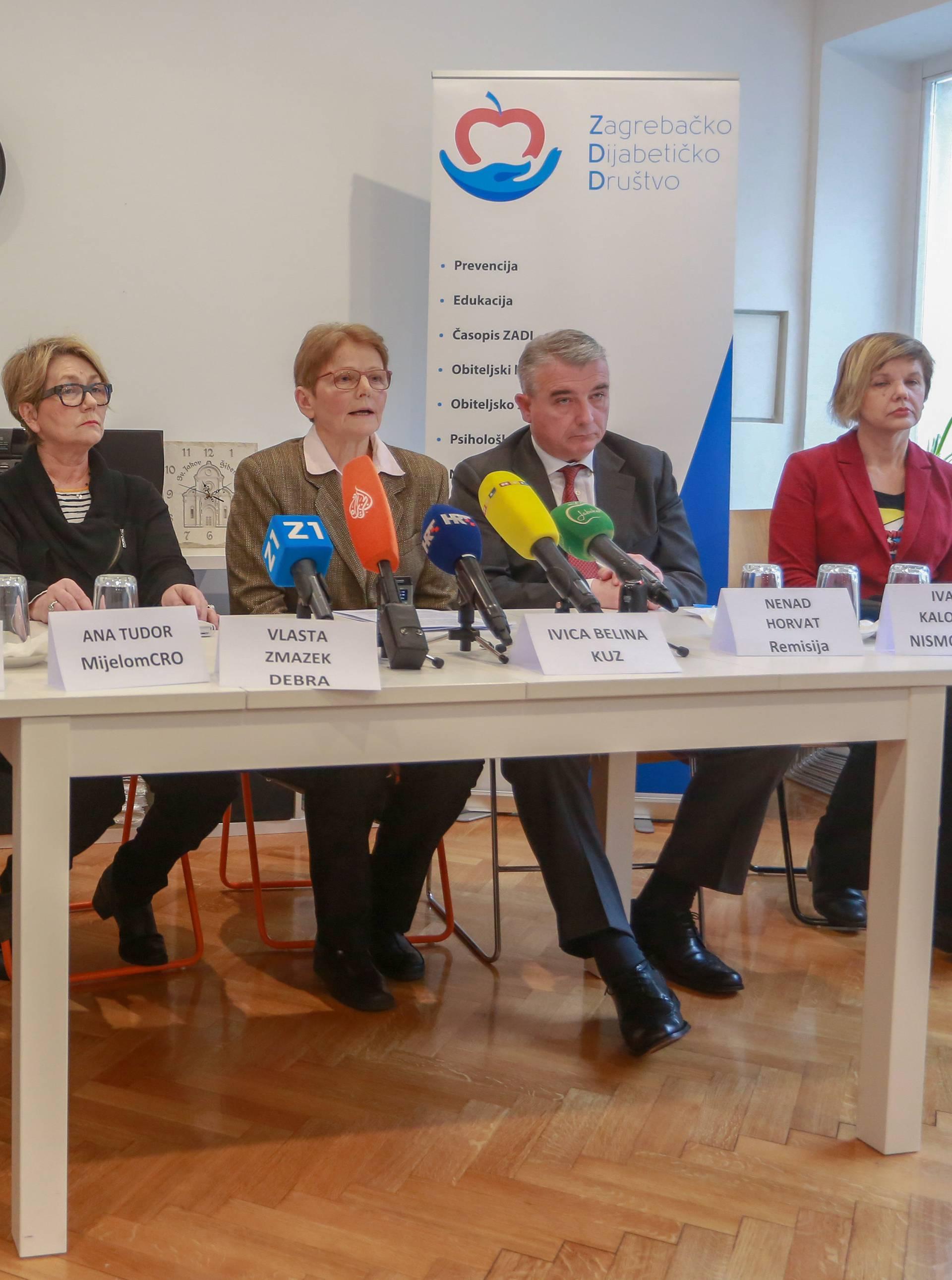 Zagreb: Udruga pacijenata održala konferenciju za medije