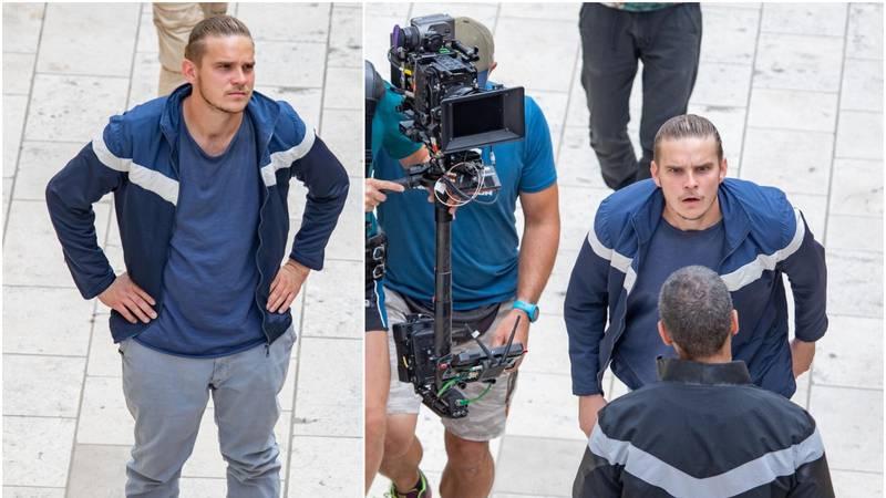 Danski glumac iz serije 'Vikinzi' snima film u centru Dubrovnika