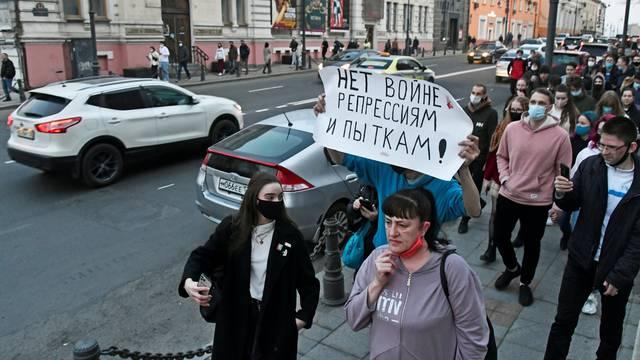 Prosvjedi za Navaljnog: Rusi su uhitili 200 ljudi diljem zemlje