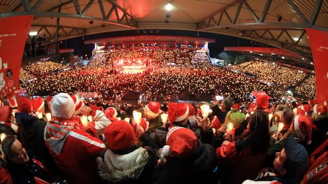 GER, 1.FBL, 1.FC UNION BERLIN, Weihnachtssingen