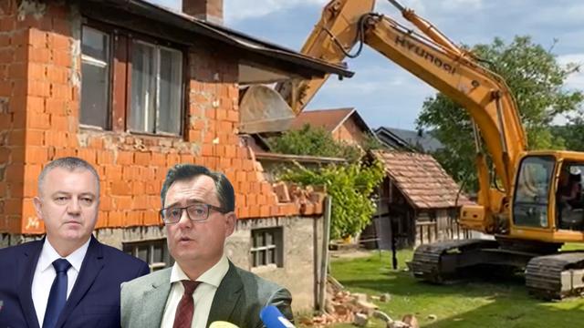 Srušili su prve kuće, a još nema kriterija za izvođače. I što sad?