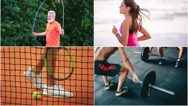 Različiti oblici vježbanja