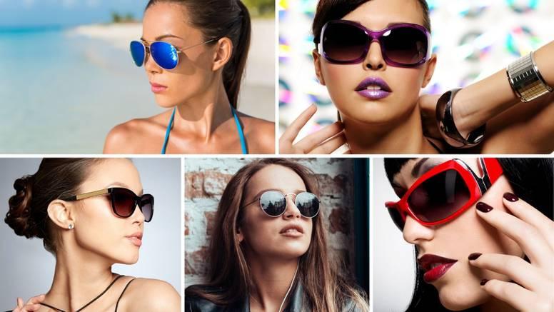 Najpopularniji modeli sunčanih naočala za ljeto 2021. Koje biste izabrale, one seksi ili otkačene?