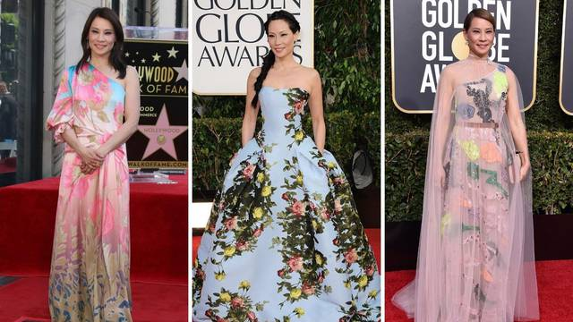 Omiljeni modeli: Lucy Liu voli šarene haljine, kratke i slatke