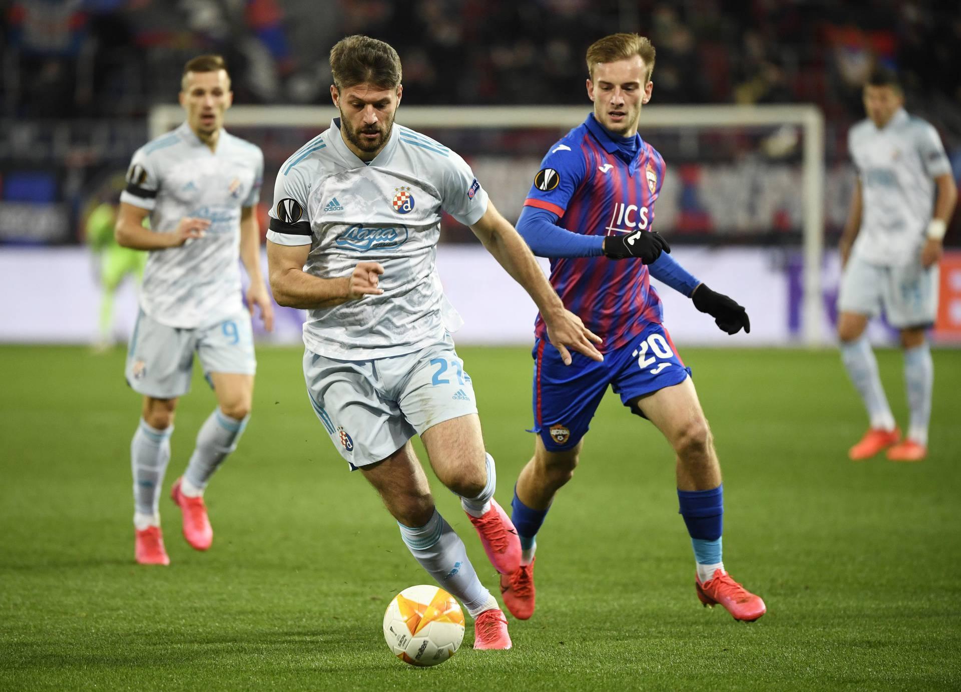 Europa League - Group K - CSKA Moscow v Dinamo Zagreb