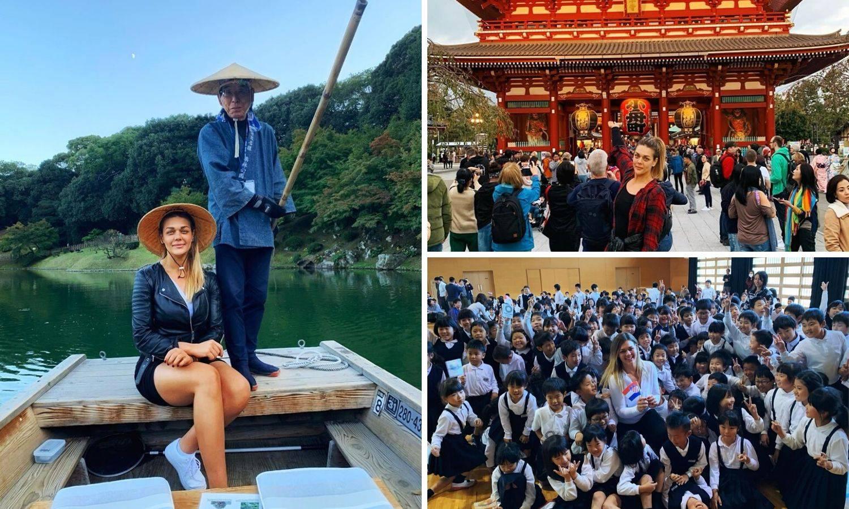 Konichiwa, Sandra! Japan me očarao, jedva čekam Tokio '20.