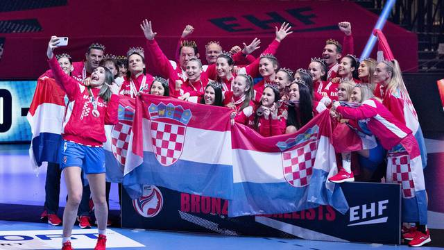 EHF Euro Women's Handball Championship Third Place Play Off - Croatia v Denmark