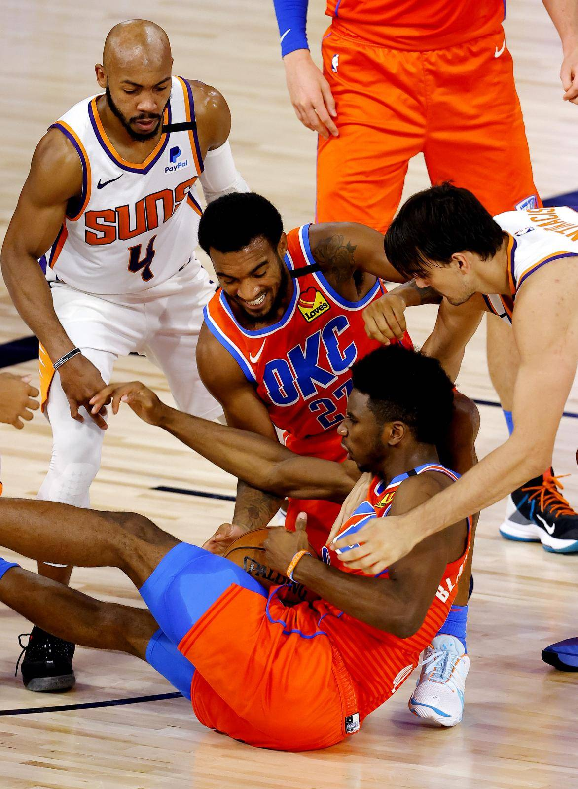 NBA: Oklahoma City Thunder at Phoenix Suns