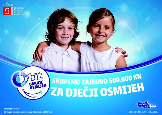 Orbit ulaže u dentalno zdravlje djece promoviranjem higijene