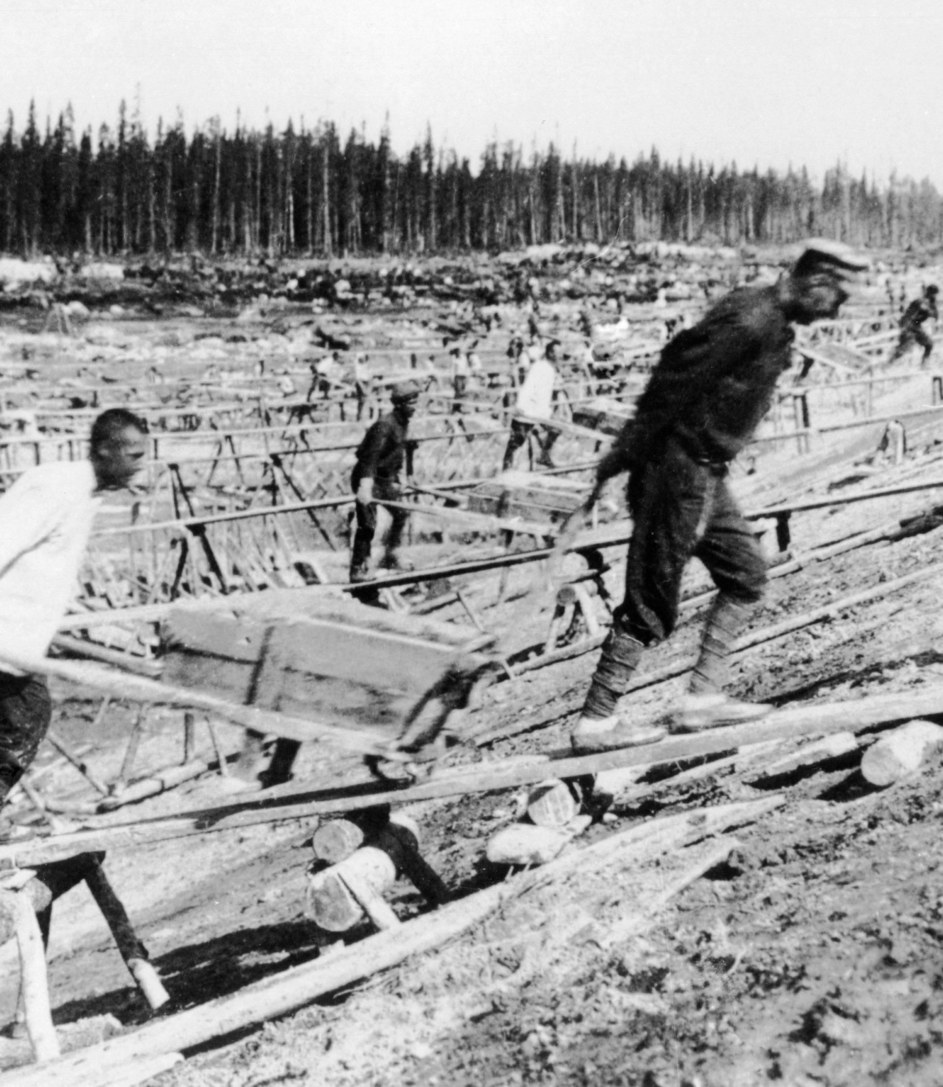 Straf-u. Arbeitslager / UdSSR / Foto um 1932